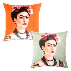 pad Kissenhülle Rosanna 45 x 45 cm aus 100% Polyester-Velour in 2 Farben
