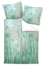 Janine Design Mako-Satin Bettwäsche modern art 42039-06 jadegrün 100% Baumwolle