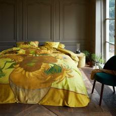 Beddinghouse Baumwollsatin Bettwäsche van Gogh Tournesol gelb 100% Baumwolle