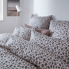 elegante Mako-Satin Bettwäsche Wild Thing 2276–7 safari Animalprint Allover