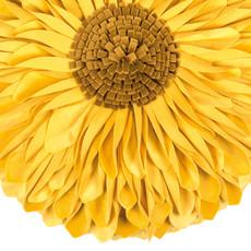 Pad Kissenhülle SUNFLOWER Ø 45 cm yellow rund