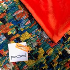 pad Kissenhülle ART WORK orange