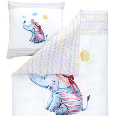 Estella Baby Bettwäsche Willy 7227-985 multicolor 135 x 200 cm FR