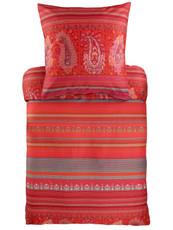 Bassetti Mako-Satin Bettwäsche MOCENIGO R1 rot Ornamente Paisley mediterran